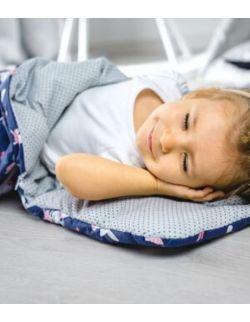 Śpiworek z ociepleniem Junior bawełna Króliczki