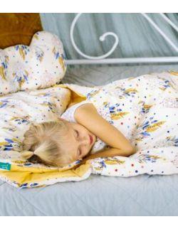 Śpiworek z ociepleniem Junior bawełna Łapacze snów