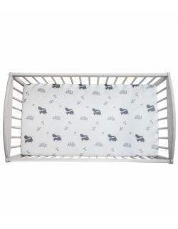 Prześcieradło do łóżeczka 140 x 70cm We care Wiewióry