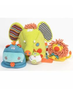 Zabawka sensoryczna 4w1, Safari.