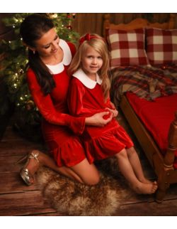 Sukienka BABY czerwona