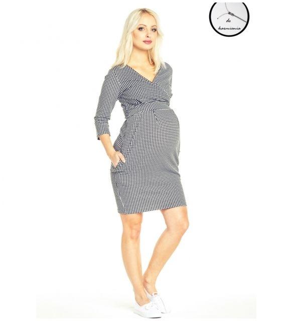 Sukienka ciążowa i do karmienia grove pepitka