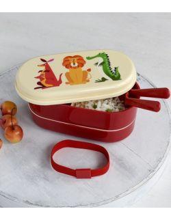 Lunchbox bento, Kolorowe Zwierzaki