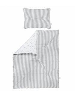 Dwustronna pościel z wypełnieniem 90×120 – szara