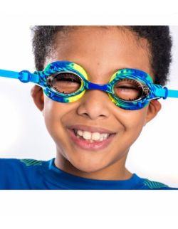 Okulary do pływania, Dinozaur, Niebieskie