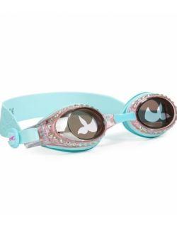 Okulary do pływania, Syrenka, Turkus