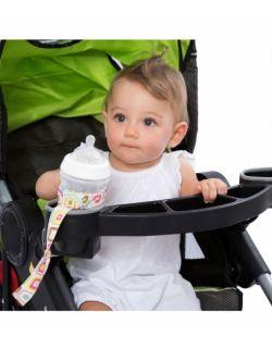 Uniwersalny pasek, uchwyt do butelek, kubków i maskotek(Gumdrop)– Ah Goo Baby