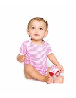 Bawełniane body z krótkim rękawem na prezent –Truskawka - Ah Goo Baby