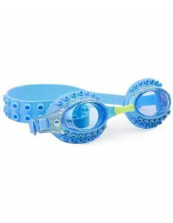 Okulary do pływania, Ośmiornica, niebieskie