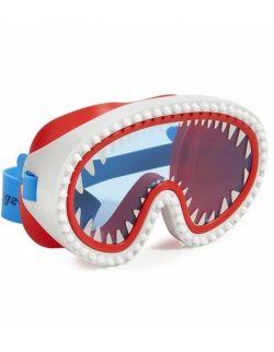 Maska do pływania, Rekin, błękitne szkło