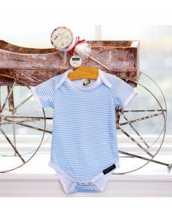 Bawełniane body z krótkim rękawem na prezent –Jeżyna - Ah Goo Baby