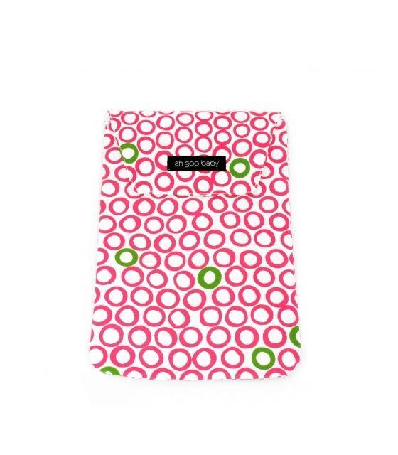 Wodoodporny woreczek na pieluszki, mokre chusteczki i zapasowe ubranka – Bubbles in Juice - Ah Goo Baby