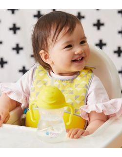 Śliniak dla niemowlaka w saszetce, Pine Slice, b.box