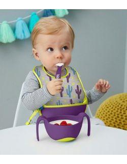 Śliniak dla niemowlaka w saszetce, Cactus Capers, b.box