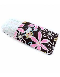 Wodoodporny woreczek na pieluszki, mokre chusteczki i zapasowe ubranka – Retro Daisy - Ah Goo Baby