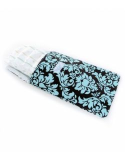 Wodoodporny woreczek na pieluszki, mokre chusteczki i zapasowe ubranka – Vintage in Blue - Ah Goo Baby