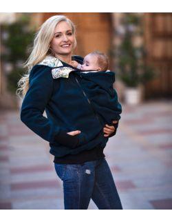 Polar dla dwojga i ciążowy LUNA - butelkowa zieleń