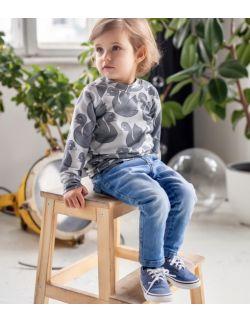 Bluza dziecieca szare labedzie
