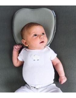 Poduszka ortopedyczna dla niemowlaka Pilo, perłowa biel, BBluv