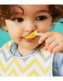 Pierwsze sztućce dla niemowląt, Lemon Sherbet, b.box