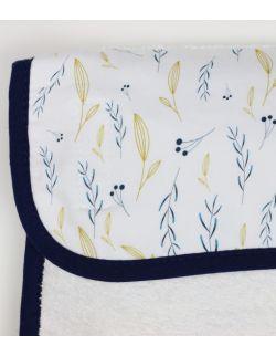 Ręcznik z myjką Bluegray