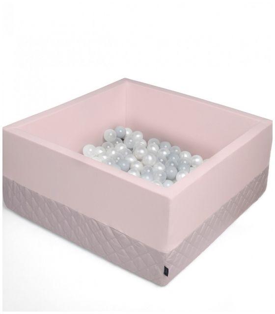 Suchy basen Velvet z piłeczkami - sepia rose