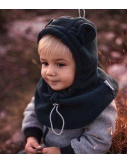 Zimowa czapka kominiarka dla dzieci - rośnie razem z dzieckiem,