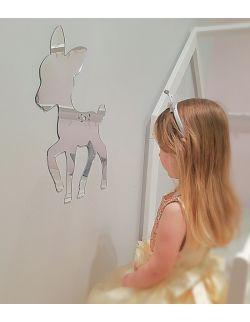 Lustro dziecięce akrylowe do pokoju Sarenka