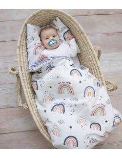 Pościel z wypełnieniem Rainbow (rozmiar M - newborn plus)