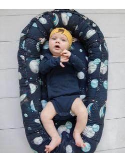 Kokon, gniazdko niemowlęce Blast Off (navy)