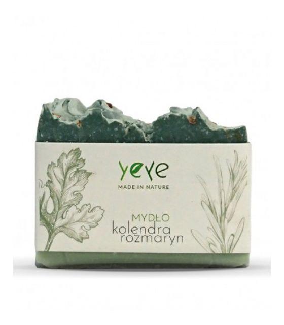 Mydło 100% naturalne ręcznie robione kolendra i rozmaryn Yeye