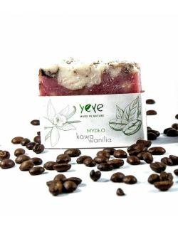 Mydło 100% naturalne ręcznie robione kawa i wanilia Yeye