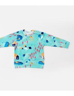 Bluza seledynowa