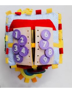 Książeczka sensoryczna: First Tresure Cube