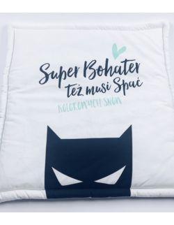 Bawełniana poduszka płaska superbohater