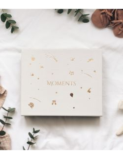 Moments - Memory box Beżowy