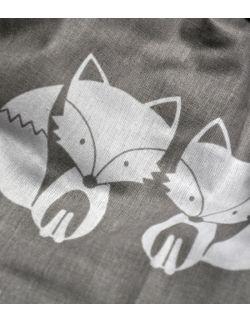 Gniazdo małe szare liski