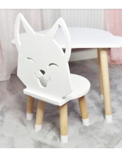Krzesełko dziecięce Lisek