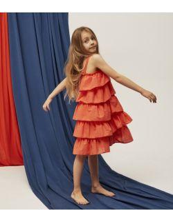 Sukienka dziewczęca Resort Dress Orange