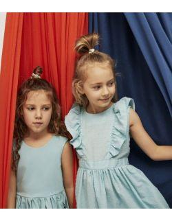 Sukienka dziewczęca Sunset Dress Blue