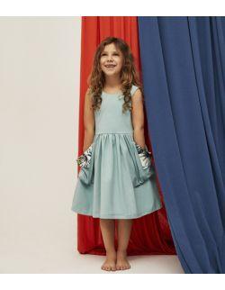 Sukienka dziewczęca Surf Dress Blue