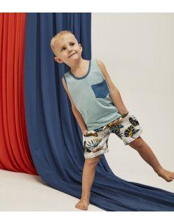 Bluzka dziecięca Safari Tank Top Blue
