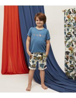Koszula dziecięca Africa T-shirt Dark Blue