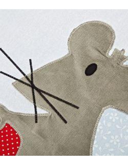 Dywanik bawełniany mysz