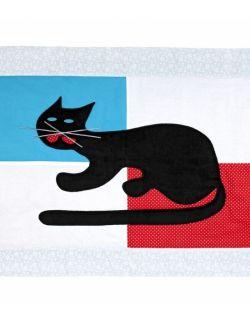 Dywanik bawełniany kot