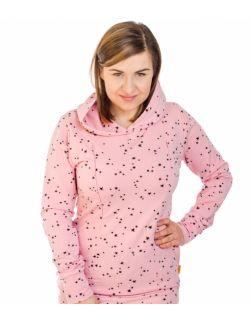 Bluza do karmienia z kapturem KARRATHA PINKY WAY