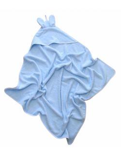 Ręcznik bambusowy - niebieski