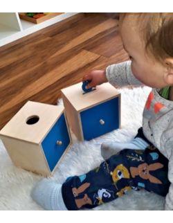 Szufladka z żetonami pomoc Montessori