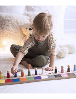 ludziki małe - kolory podstawowe i pochodne