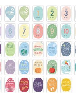 Karty do zdjęć - pierwszy rok życia - EKO